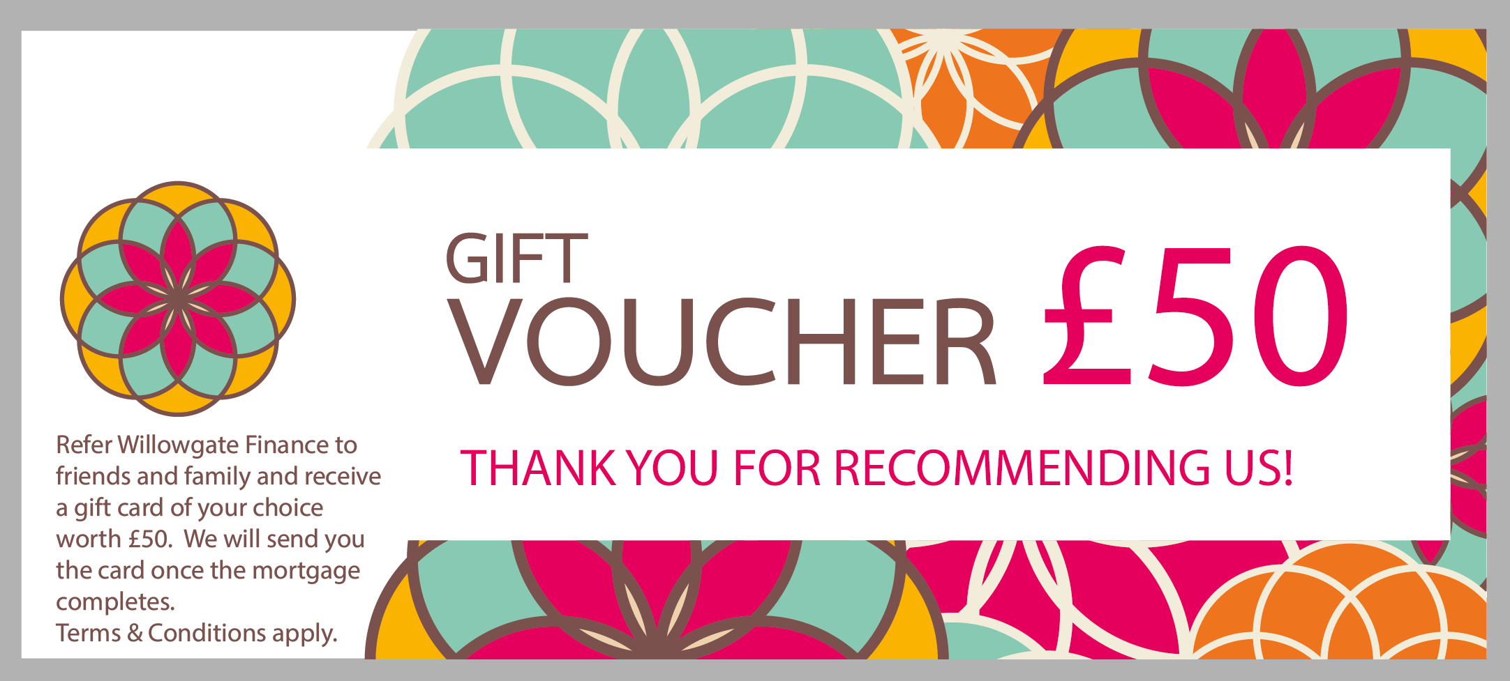 Refer a friend voucher